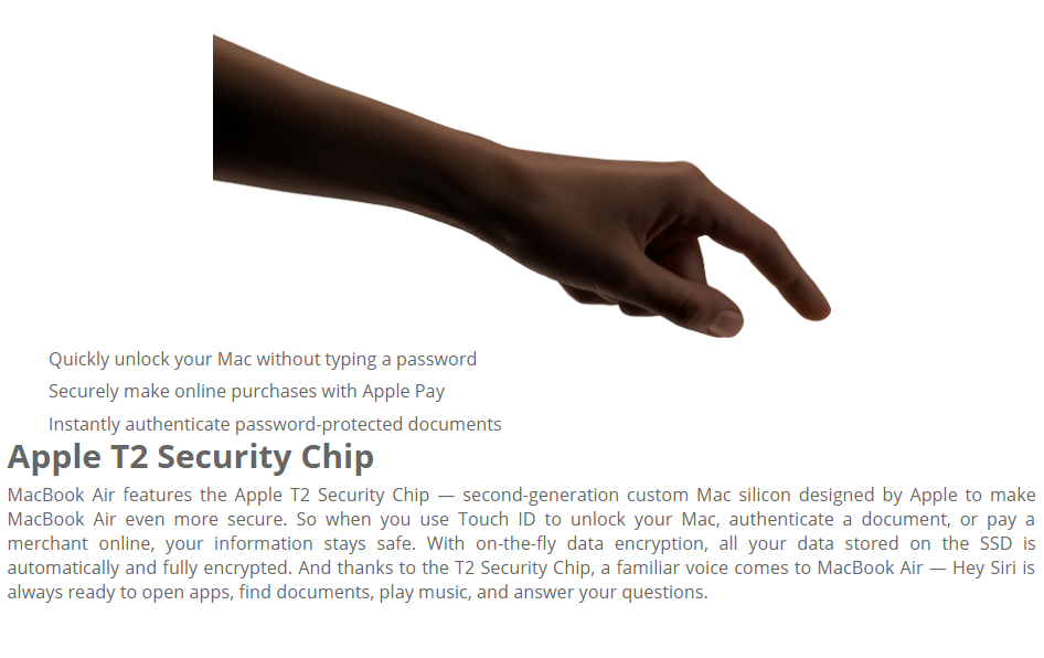 Apple Macbook Air MRE82