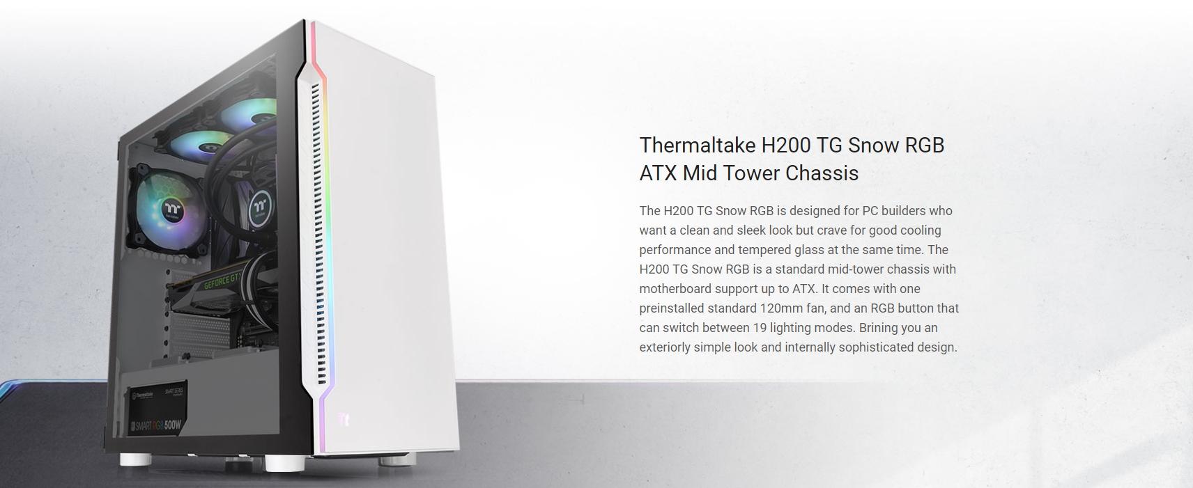 Thermaltake h200