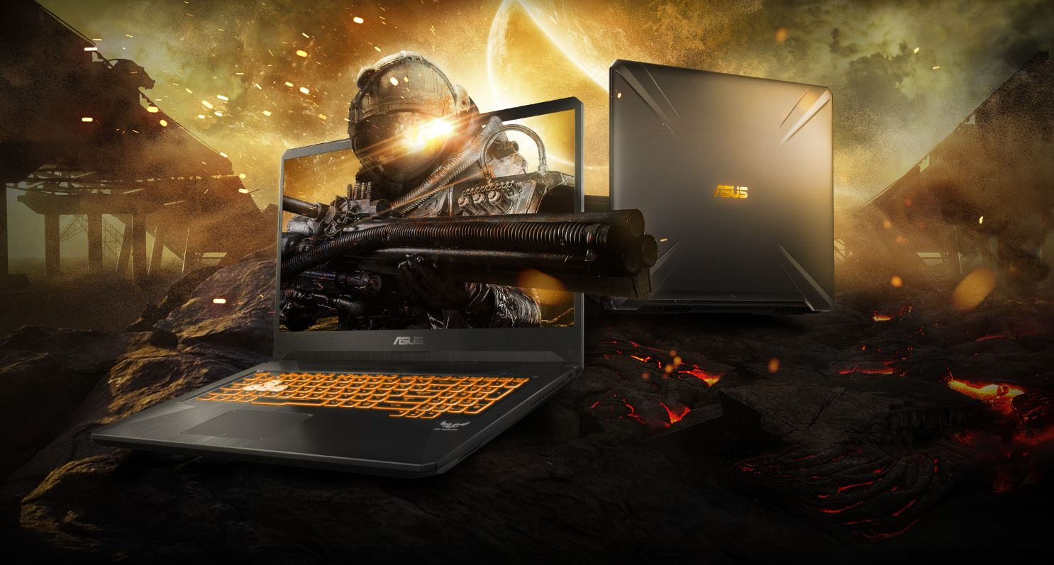 ASUS TUF Gaming FX705GE Gaming Laptop, 17 3 FHD 144Hz Screen, Intel Core i7  8th Gen 8750H 2 20 GHz,