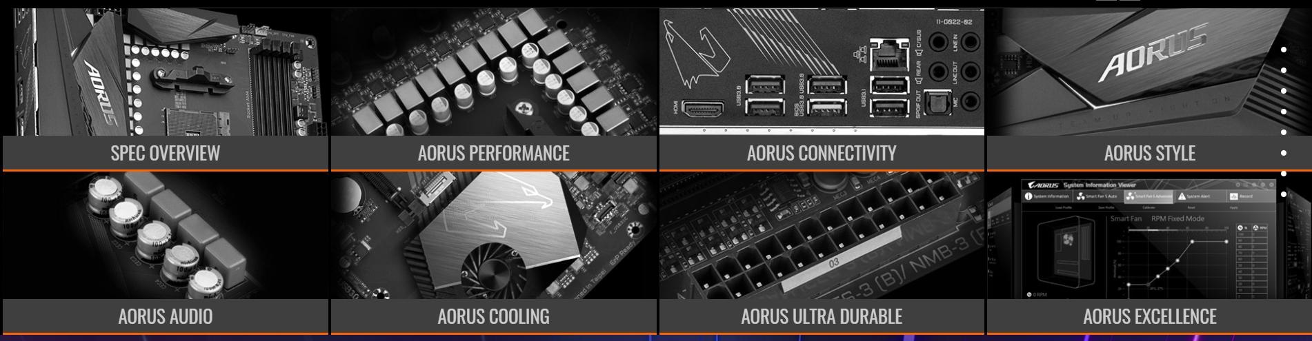 Gigabyte AMD X570 AORUS Elite Motherboard, Dual PCIe 4 0 M 2 with Single  Thermal Guard, Intel GbE L