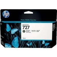 HP 727 130-ml Matte Black DesignJet Ink Cartridge | B3P22A