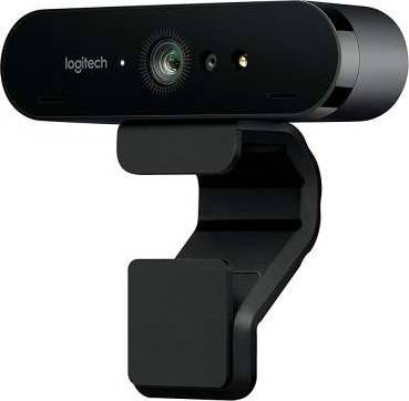 Logitech BRIO – 4K Ultra HD Webcam – 5x Digital Zoom – For Recording, Streaming, Video Calling, ULTRA HD QUALITY, HIGH-TECH LIGHT CORRECTION, CRYSTAL-CLEAR AUDIO | 960-001106