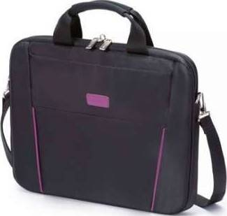 Dicota Slim Case BASE 14-15.6 Functional and Lightweight Notebook Bag Black/Purple | D31000