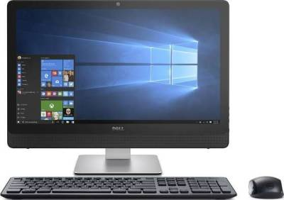 """DELL INSPIRON 24-3464 23.8"""" All-In-One Touchscreen (i5-7200U 8GB RAM 1TB HDD 23.8"""" Touch DVD-ROM Wireless Keyboard+Mouse English/Arabic Windows 10 Home) 