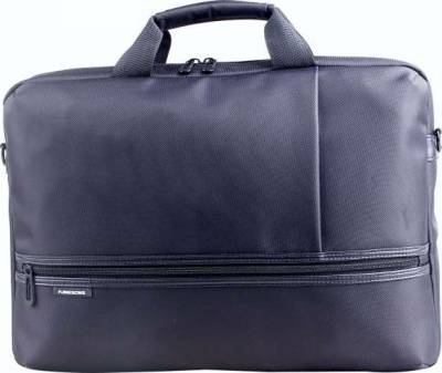 "KingSons Diplomat Series 15.6"" Laptop Shoulder Bag (Black) 