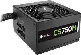 CORSAIR POWER SUPPLY CS750M 750W MODULAR 80 PLUS GOLD | CP-9020078-UK