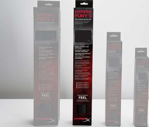 Hyperx Fury S Pro Gaming Mouse Pad Large Black Hx