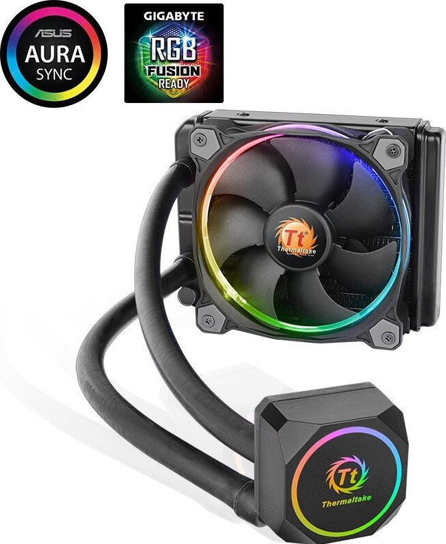 Thermaltake Water 3 0 X120 Sync Rgb Static Pressure Fans