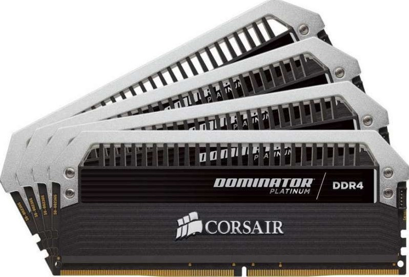 Corsair Dominator Platinum 32gb 4x8gb Ddr4 3000mhz C15
