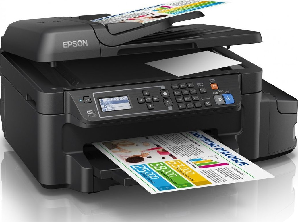 Epson L655 4 In 1 Ink Tank Printer Print Scan Copy Fax Wi Fi Mainboard L805 Wifi