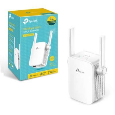 TP-Link TL-WA855RE N300 300Mbps Wi-Fi Wall Plug Range Extender | TL-WA855RE