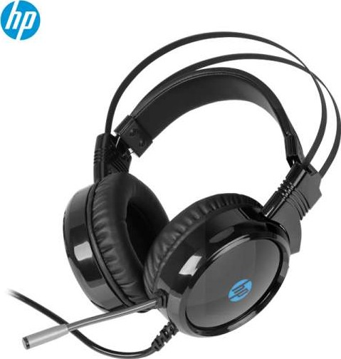 Hp H120 Usb Gaming Headset With Backlit Black 1qw67aa