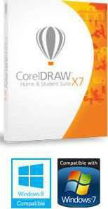 CorelDRAW Home & Student Suite X7 - 3 Users
