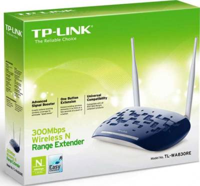 TP-LINK 300Mbps Wireless N Range Extender TL-WA830RE