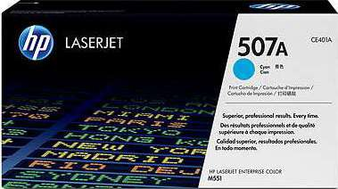 Hp 507a Cyan Laserjet Toner Cartridge Ce401a Buy Best