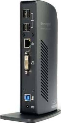 USB 3.0 Docking Station with Dual DVI/HDMI/VGA