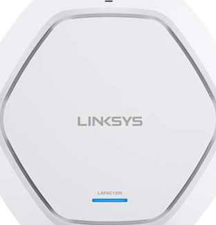 LINKSYS LAPAC1200 BUSINESS ACCESS POINT WIRELESS WI-FI DUAL BAND 2.4 + 5GHZ AC1200 WITH POE
