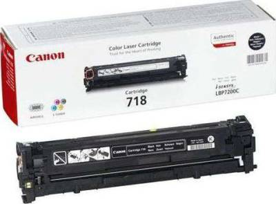 Canon Toner Cartridge, Black EP-718B