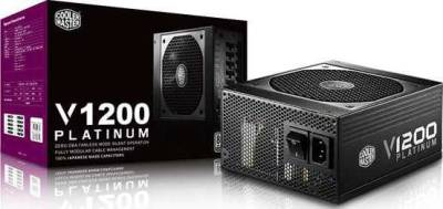 Cooler Master V1200 1200W Watt 80 Plus Platinum Modular Power Supply | RS-C00-AFBA-G1
