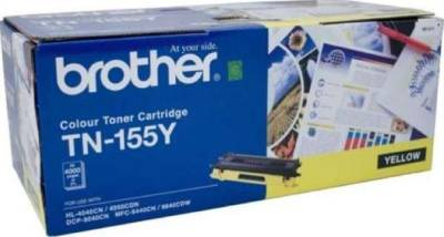 Brother TN-155 Yellow Toner Cartridge