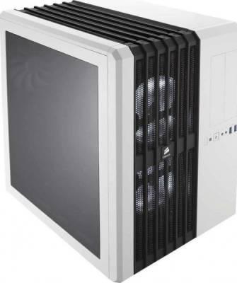 Corsair Carbide Series Air 540 Arctic White High Airflow ATX Cube Case | CC-9011048-WW