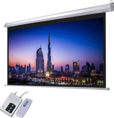 "iView E150 Electrical Screen with Remote Control 300x220cms (150"" Diagonal)"