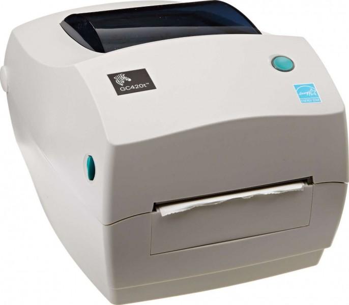 Zebra Monochrome Desktop Direct Thermal/Thermal Transfer ...