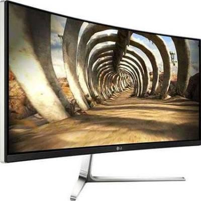 LG 34UC97 Black 34 Inch Ultrawide 21:9 WQHD IPS Curved Monitor LED Backlight LCD, 300 cd/m2 100,000:1, Dual HDMI / Dual ThunderBolt ports, 2xUSB 3.0 ports, Built-In Speakers