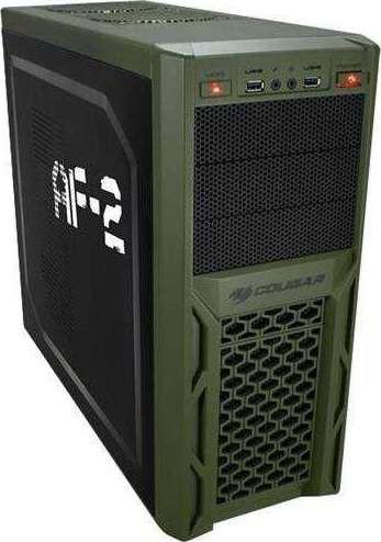 Cougar Solution Af2 Black Steel Atx Mid Tower Computer