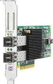 HP 82Q 8GB DUAL PORT PCI-E FC Adapter - AJ764A