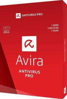 Avira Antivirus PRO 2015 (1 USER for 3 Devices)