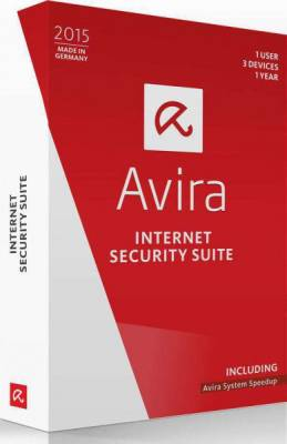 Avira Internet Security Suite 2015 (1 User 3 devices )