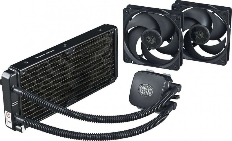 Cooler Master Nepton 240m Cpu Water Cooling System All In