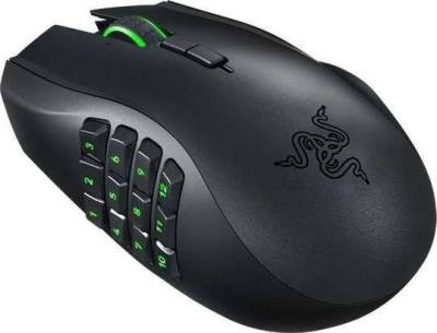 Razer Naga Epic Chroma Multi-Color Wireless MMO Gaming Mouse | RZ01-01230100-R3A1