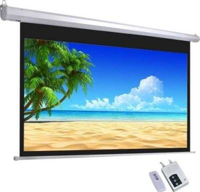 """iView Electrical Projector Screen with Remote Control 332x187cms (150"""" Diagonal) 16:9 Format"""