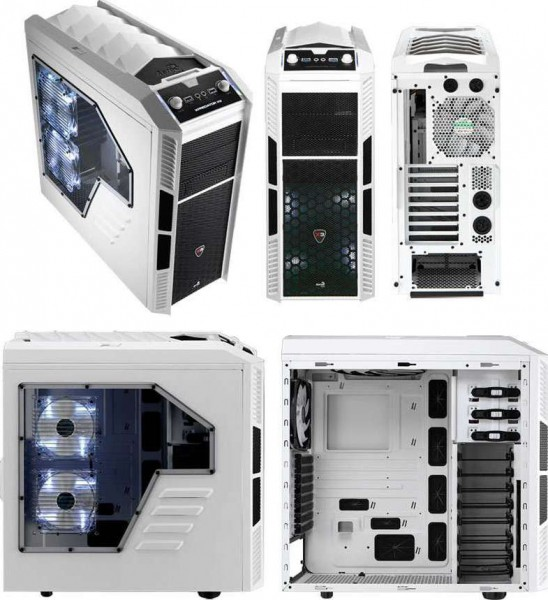 Aerocool Xpredator X3 White Edition Atx Case Buy Best