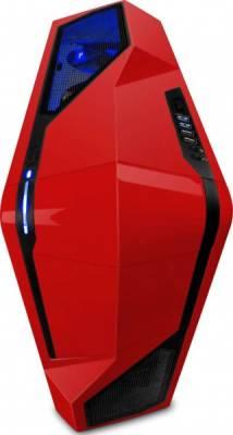NZXT Phantom 410 Mid Tower USB 3.0 Gaming Case - Red   CA-PH410-R1