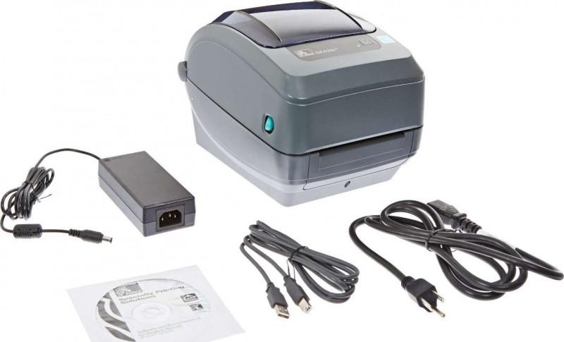 Zebra GK420t Monochrome Desktop Direct Thermal Transfer ...