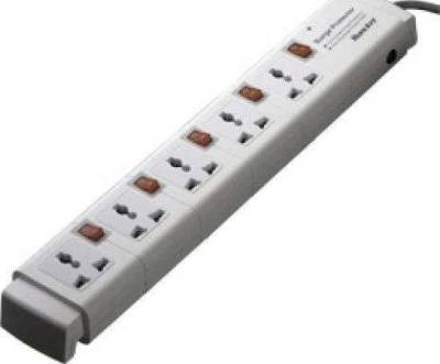 Huntkey Power Strip 5 Sockets 3M Cable with Surge Protector | PSPZC505HK
