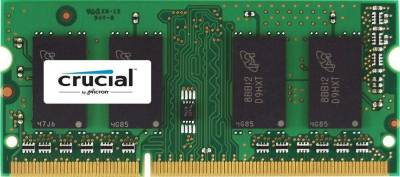Crucial 8GB Single DDR3 1333 MHz CL9 204-Pin 1.35V/1.5V SODIMM Memory For Mac | CT8G3S1339MCEU