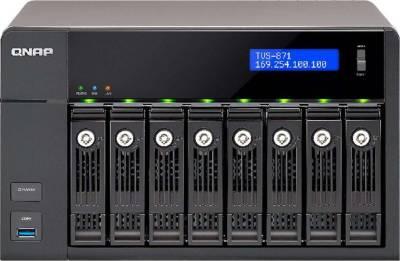 QNAP TVS-871-i3-4G-US 8 Bay Intel Core i3 3.5 GHz Dual Core, 4GB RAM, 4LAN, 10G-ready | TVS-871-i3-4G
