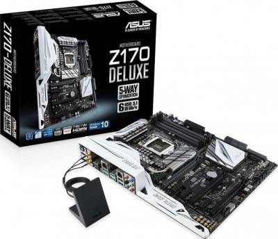 ASUS Z170 DELUXE ATX DDR4 Motherboards (Socket 1151, Z170 DDR4 up to 64GB) | 90MB0LR0-M0EAY0