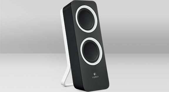 Logitech Multimedia Speakers Z200 with Stereo Sound for Multiple Devices (Midnight Black, Snow ...
