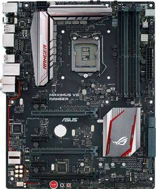 ASUS MAXIMUS VIII RANGER (Intel Socket 1151, Z170, DDR4 up to 64GB) | 90MB0LX0-M0EAY0