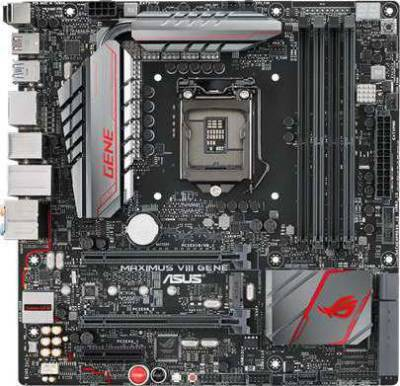 ASUS MAXIMUS VIII GENE (Intel 1151 socket, Z170, DDR4 up to 64GB) | 90MB0MB0-M0EAY0
