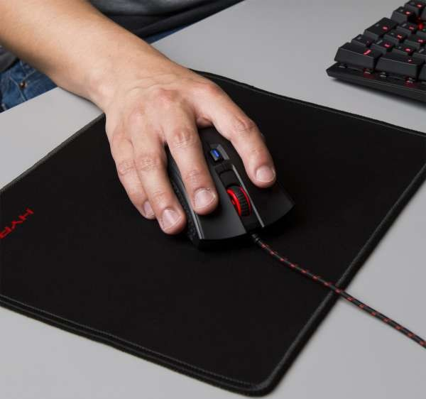 Hyperx Fury S Pro Gaming Mouse Pad Large Black Hx
