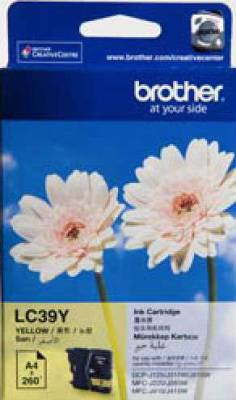 Brother LC39Y Ink Cartridge