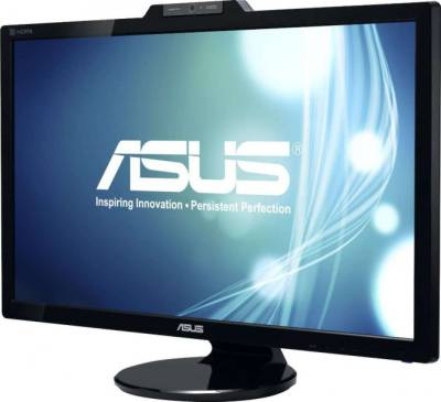 ASUS VK278Q 27 Inch Full HD 1920x1080 2ms DisplayPort HDMI DVI-D VGA 2.0M web cam (Rotatable) Back-lit LED Monitor