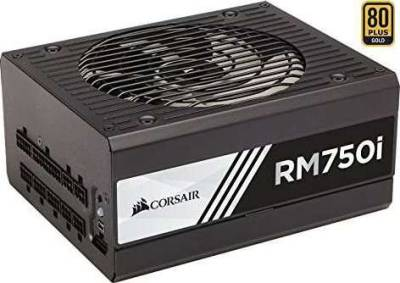 CORSAIR RMi Series RM750i 750W Watt High Performance Full Modular 80 Plus Gold 750 Watts Power Supply | CP-9020082-UK