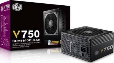 Cooler Master V750 750W Watt Semi-Modular Power Supply | RS-750-AMAA-G1